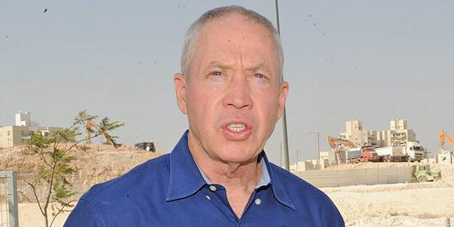 יואב גלנט שר הבינוי והשיכון, צילום: ישראל יוסף