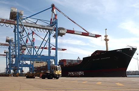 נמל אשדוד. כשל שוק המאפשר לחברות הנמל לשלוט על שירותים חיוניים