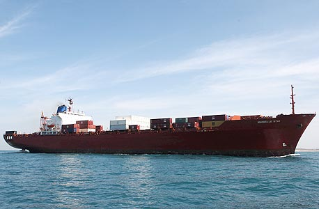 ספינת מסחר, צילום: אוראל כהן