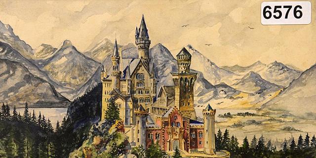 ציורים פרי מכחולו של היטלר נמכרו ב-450 אלף דולר
