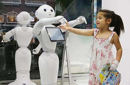 רובוט רובוטים Pepper סופטבנק