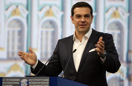 ראש ממשלת יוון אלכסיס ציפראס, צילום: בלומברג