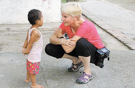 אלון בין צילומים, בורמה 2011