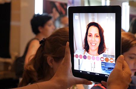 אפליקציה להתאמת איפור, של לוריאל, צילום: הילה ספאק