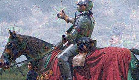 ציור וירטואלי אינטליגנציה מלאכותית של גוגל