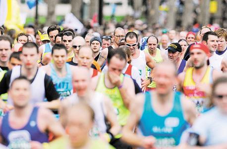 """רצים. רן אלתרמן, מאמן ריצה: """"רובנו לא עושים את זה בשביל לנצח, אלא כדי להציב לעצמנו מטרה ולהשיג אותה"""", צילום: בלומברג"""