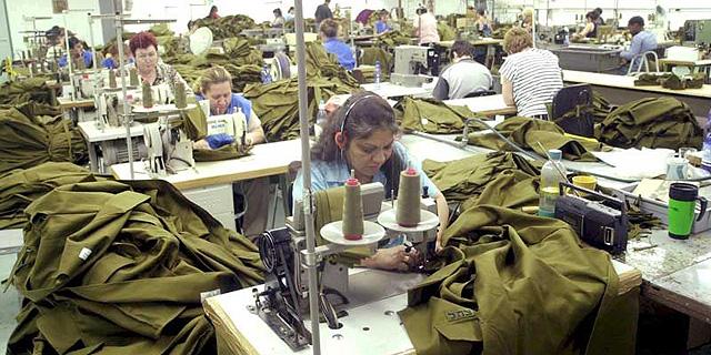 תקנות חדשות: כוחות הביטחון יתנו עדיפות לטקסטיל מתוצרת הארץ