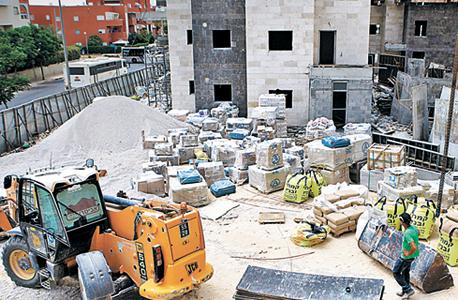 אתר בנייה (ארכיון)