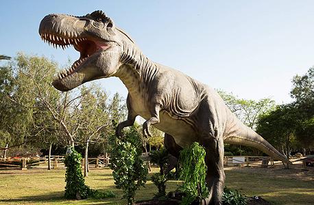 הדינוזאורים קמים לתחייה בירושלים. חוויה פריהיסטורית, צילום: עודד אנטמן