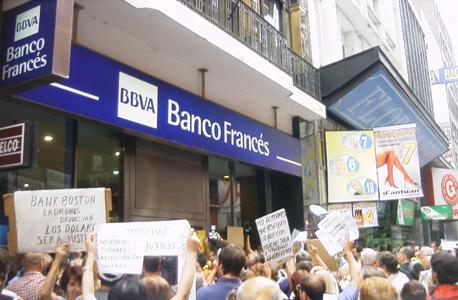 הפגנת בארגנטינה ב-2002