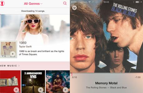 אפל מיוזיק מוזיקה סטרימינג ביקורת