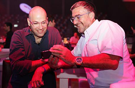 מימין יעקב הלפרין ואחיה פריד, צילום: אוראל כהן