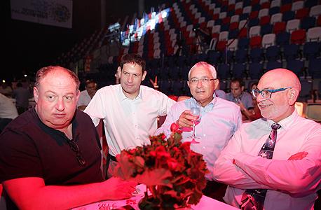 מימין משה רוזנבלום, מוטי סלע, עדי כהן והראל ויזל, צילום: אוראל כהן