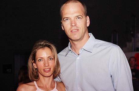 גור שלף ואשתו, צילום: אוראל כהן