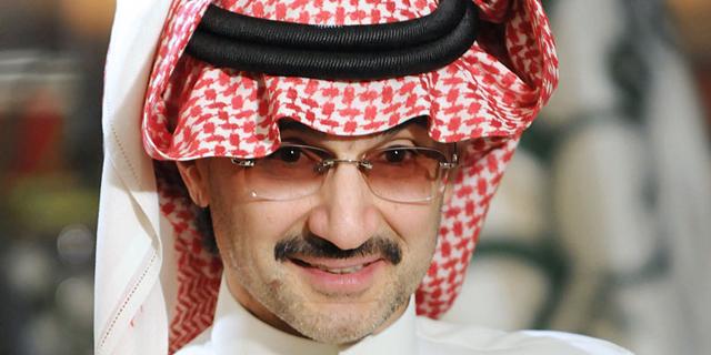 הנסיך הסעודי אל-וליד בן טלאל יתרום את כל כספו לצדקה