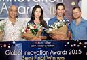 זוכי חצי הגמר של Innovation Awards 2015
