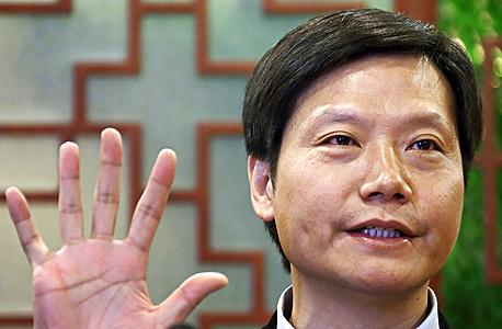 לי ג'ון lei jun שיאומי xiaomi מנכל, צילום: בלומברג