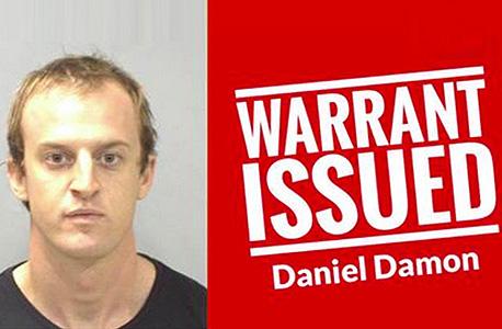 תמונת מעצר אוסטרליה דניאל דיימון פייסבוק, משטרת ויקטוריה אוסטרליה