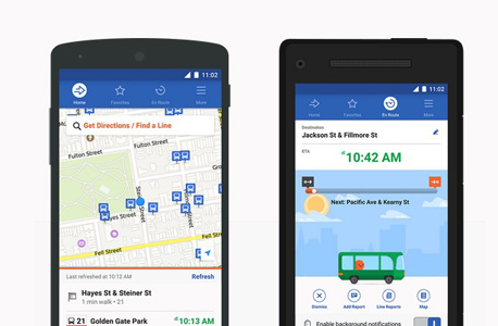 מוביט אפליקציה ניווט תחבורה ציבורית 3, צילומי מסך מאפליקציית מוביט