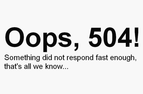 """הודעת השגיאה אתמול באתר """"וול סטריט ג"""