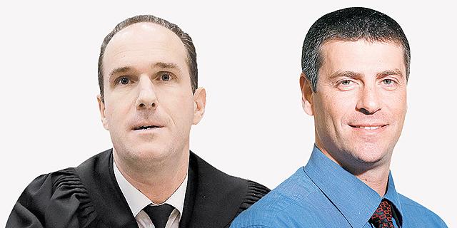 """מימין: עו""""ד עומר גדיש ועו""""ד ישראל בכר, צילומים: אפי שמח וצפריר אביוב"""