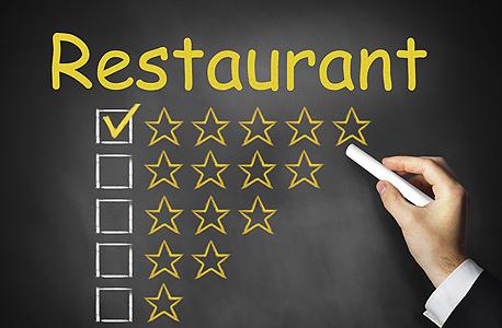 דירוג מסעדות ציון כוכבים, צילום: שאטרסטוק
