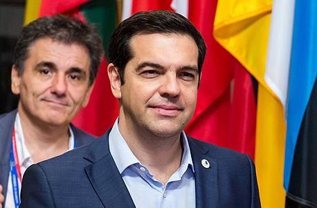 ראש ממשלת יוון אלכסיס ציפרס , צילום: איי פי