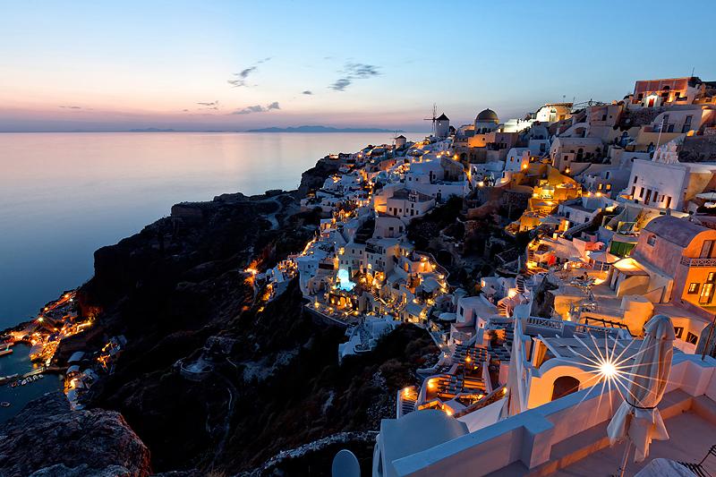 סנטוריני, יוון. כמעט הכל בחינם, צילום: שאטרסטוק