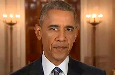 """הנשיא אובמה. """"יש מגוון של שיקולים שמשפיעים על ההחלטה היכן ישהה הנשיא כשהוא מחוץ לבית הלבן"""""""