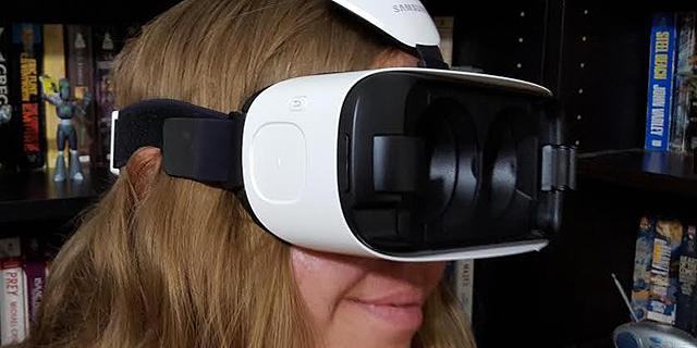 Gear VR של סמסונג: מציאות מדומה ב-1,200 שקל
