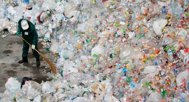 Plastic waste (illustration). Photo: Bloomberg