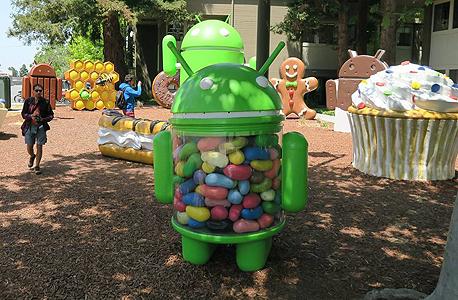 אנדרואיד ממתקים פינוק עובדים גוגל גוגלפלקס, צילום: אימג'בנק, Gettyimages