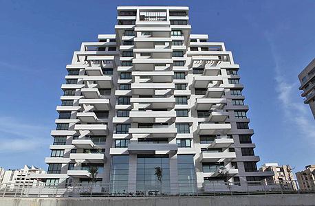 בניין שנבנה על ידי קבוצת רכישה בצפון תל אביב. שר הבינוי הקודם ניסה למצוא פתרונות