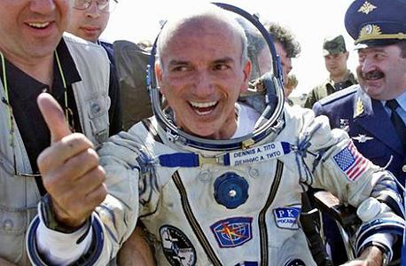 המיליונר האמריקאי דניס טיטו שכבר טס לחלל, צילום: איי פי