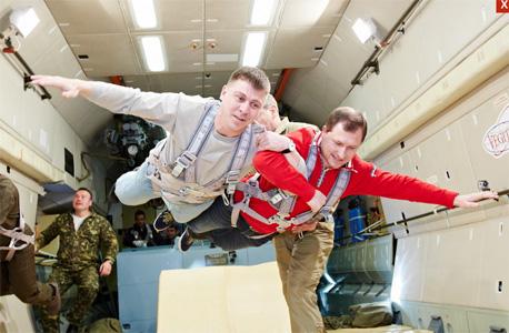 באימונים לקראת הטיסה, צילום: stracity tours