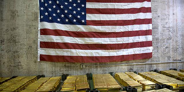 מטילי זהב במטבעה בניו יורק, צילום: בלומברג