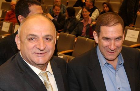 מימין יפתח רון טל ו יצחק תשובה, צילום: נמרוד גליקמן