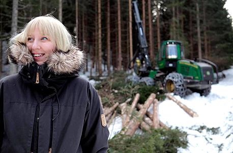פיטרסון בשטח היער העתידי, צילום:Giorgia Polizzi