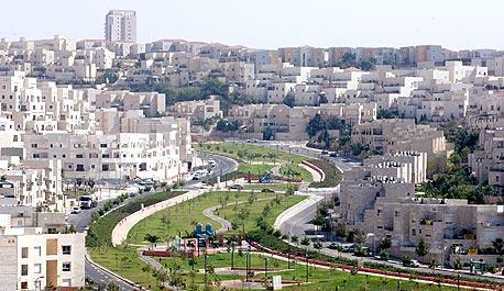 מודיעין (ארכיון). הטבה בהיקף של בין 300-400 אלף שקל ממחיר דירה כיום בעיר, צילום: תומריקו
