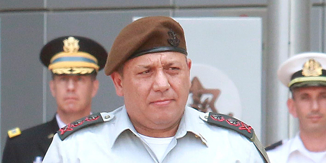 Chief of staff of the Israeli military, Lt. Gen. Gadi Eisenkot. Photo: Dana Kopel
