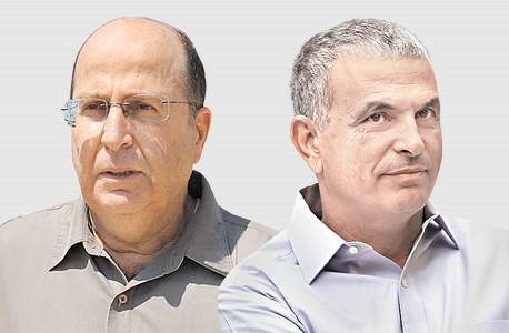 מימין משה כחלון ו משה יעלון, צילום: אלעד גרשגורן, ישראל יוסף