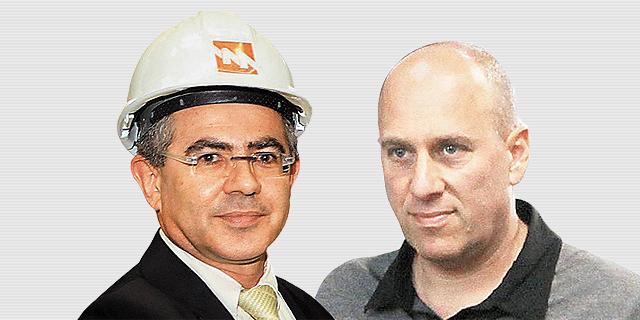 """מנכ""""ל סימנס אורן אהרונסון ויעקב (יאשה) חאין, לשעבר המשנה למנכ""""ל חברת החשמל, צילום: אוראל כהן"""