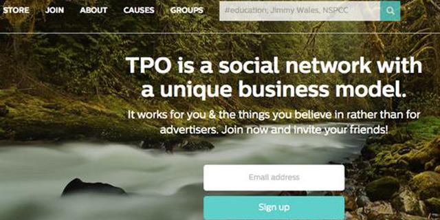 מייסד ויקיפדיה חשף את TPO, רשת חברתית ללא פרסומות