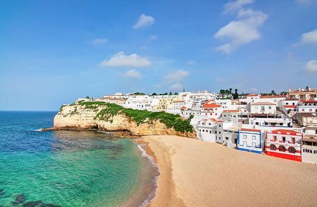 אלגרב פורטוגל חוף פנסיה, צילום: שאטרסטוק