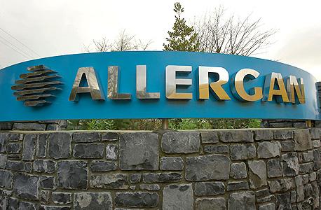 מפעל חברת התרופות אלרגן באירלנד