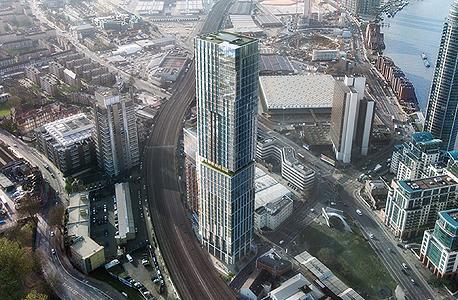 מגדל מגורים לונדון ורסאצ'ה