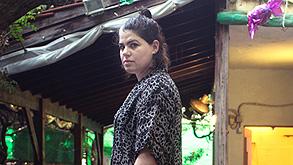 חיה ברשינסקי, אמנית שעובדת בגן , צילום: תומי הרפז