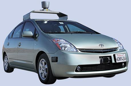 גוגל רובוקאר מכונית ללא נהג של גוגל