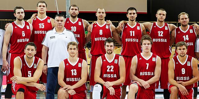 נבחרת רוסיה הושעתה מהיורובאסקט