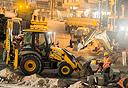 עבודות ברחוב יהודה הלוי, צילום: יובל חן
